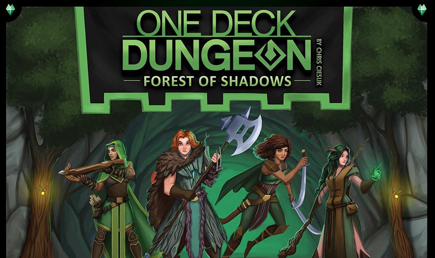 One Deck Dungeon – Forest of Shadows